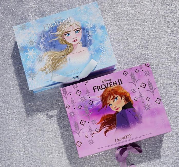 I due set dedicati a Elsa e Anna