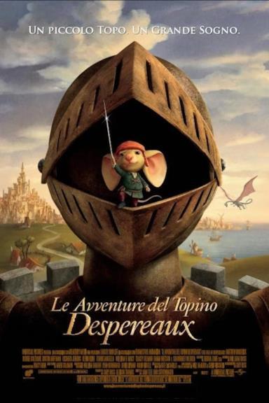 Poster Le avventure del topino Despereaux