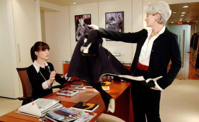 Miranda Priestly lancia il cappotto