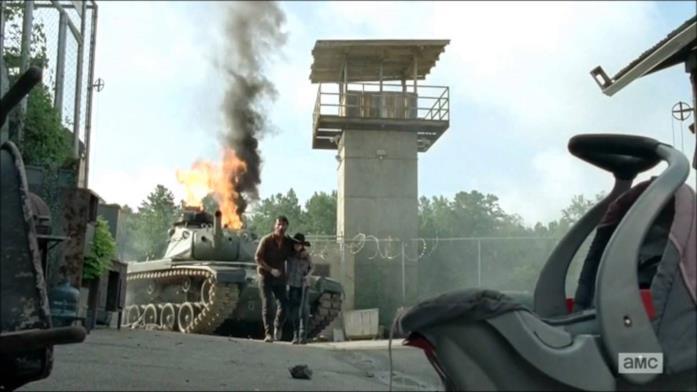 The Walking Dead 4x08: il finale