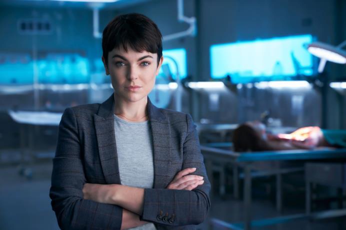 Serinda Swan è la Coroner protagonista della serie Crime