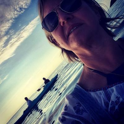 Carol Banker al mare