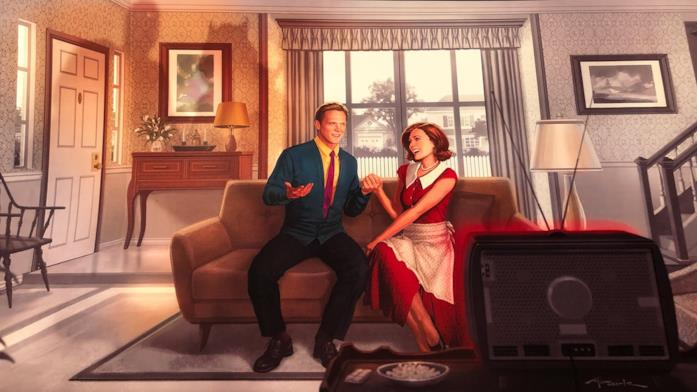 Prima immagine promozionale di WandaVision