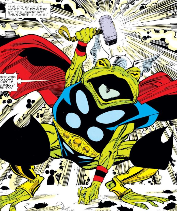 La rana Thor