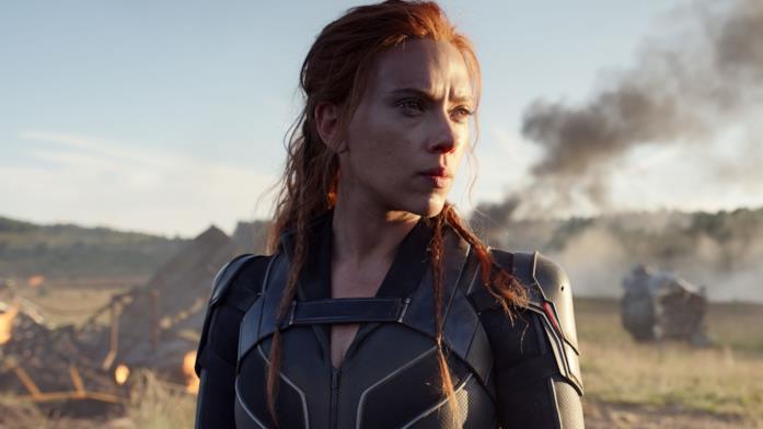 Un'immagine con Scarlett Johansson nei panni di Vedova Nera