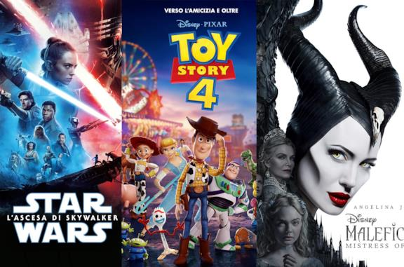 I poster di Star Wars: L'ascesa di Skywalker, Toy Story 4 e Maleficent 2