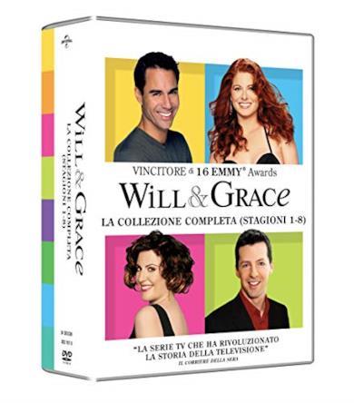 Cofanetto DVD di Will & Grace - Stagioni 1-8