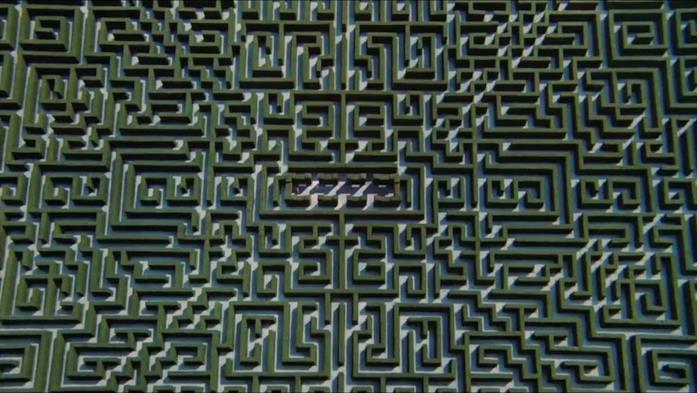 Panoramica del vero labirinto