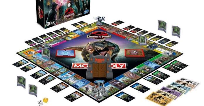 Gioco da tavolo Monopoli Jurassic Park