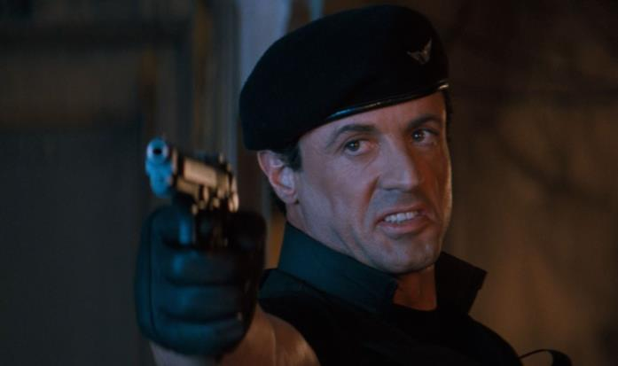 Sylvester Stallone, John Spartan in Demolition Man
