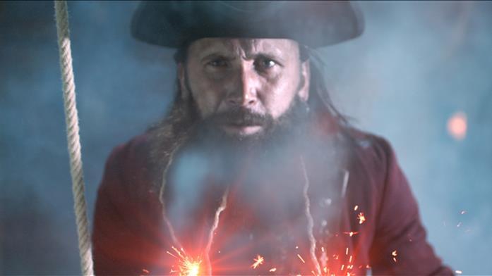 Edward Thatch ne Il mondo segreto dei pirati
