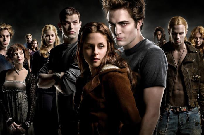 Un'immagine del cast di Twilight al completo