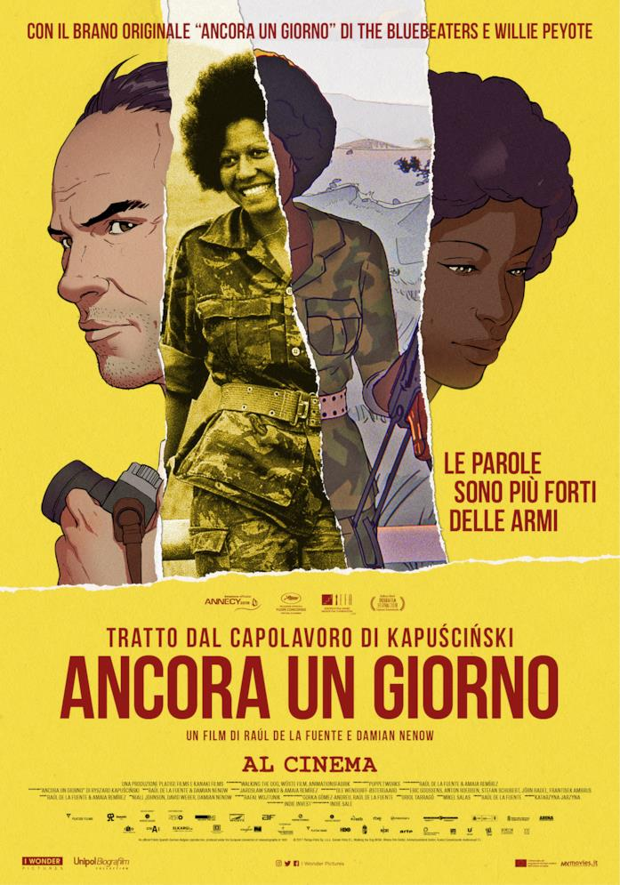 Il poster del film Ancora un giorno
