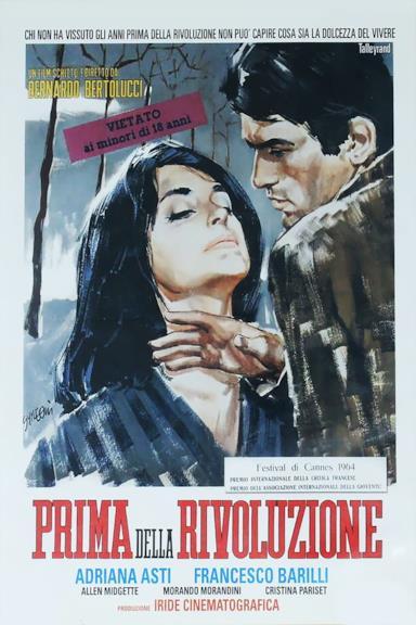Poster Prima della rivoluzione