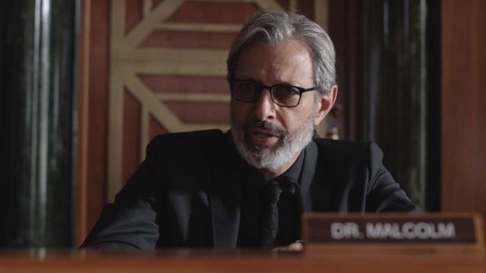 Jeff Goldblum è Ian Malcolm nel trailer di Jurassic World: Il Regno Distrutto