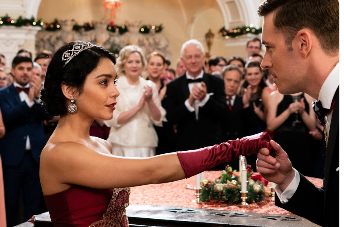 Una splendida Vanessa Hudgens in Nei panni di una principessa