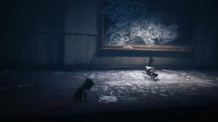 Una scena dal videogame Little Nightmares 2