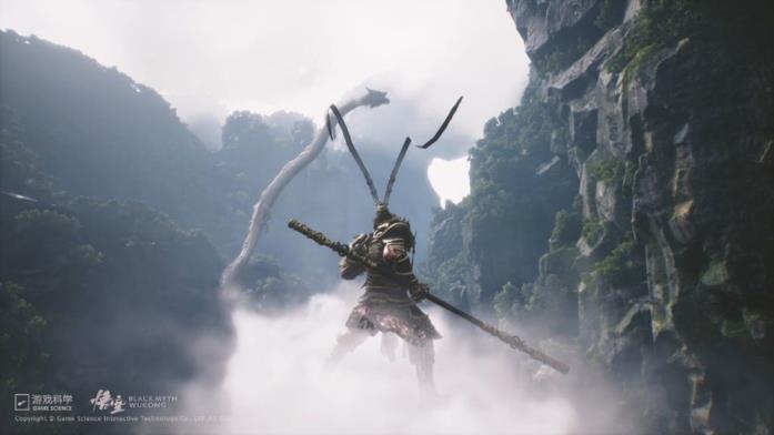 Una scena del videogame Black Myth: Wukong