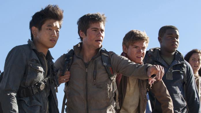 Il gruppo di protagonisti di Maze Runner