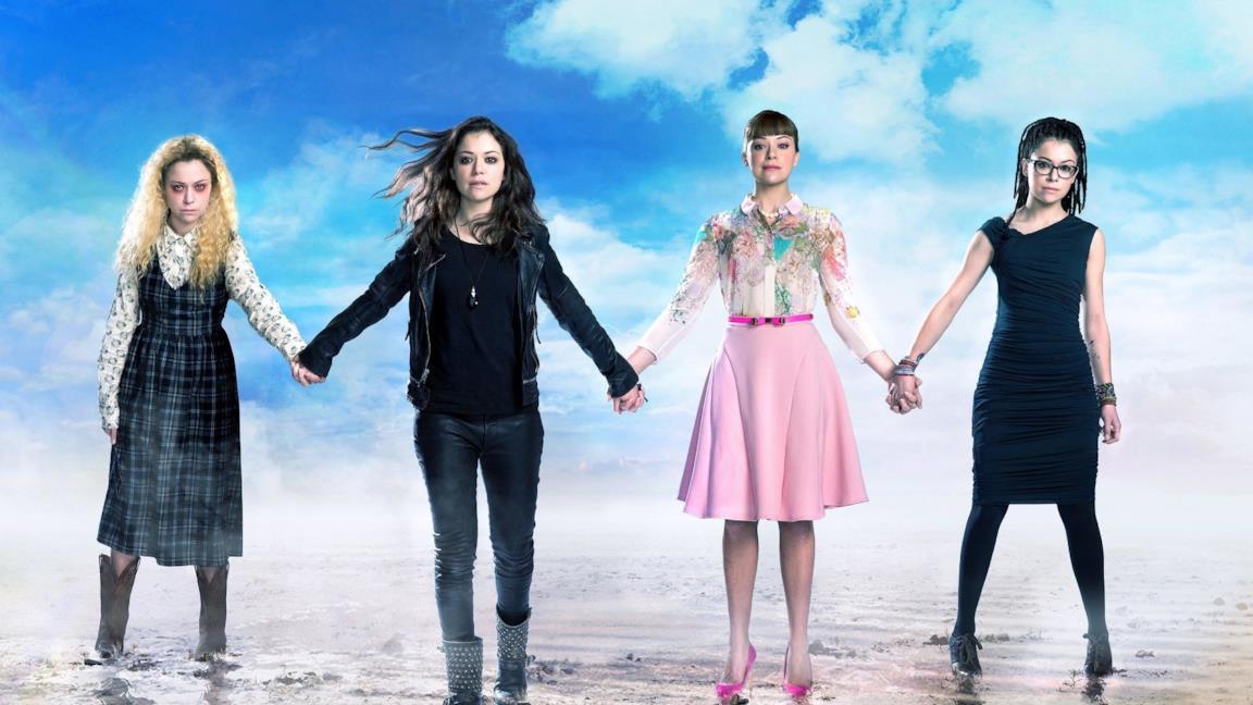 Sarah, Helena, Alison e Cosima insieme