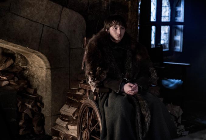 Bran Stark in GoT 8x02