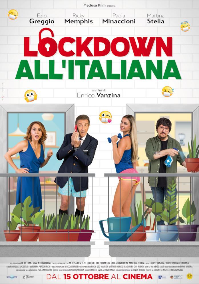 I protagonisti di Lockdown all'italiana