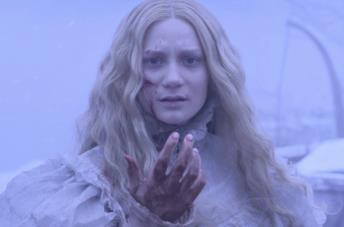 Mia Wasikowska è Edith Cushing in Crimson Peak