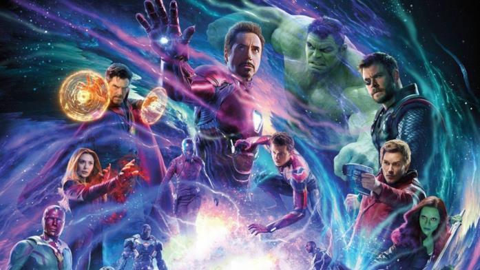 Avengers Infinity Wars personaggi