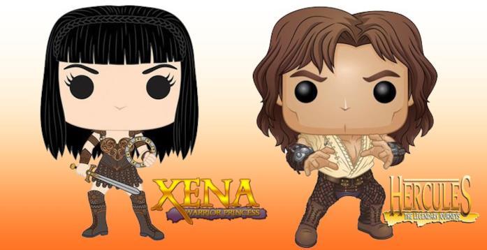 I Funko Pop di Xena ed Hercules in arrivo