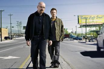 Bryan Cranston e Aaron Paul