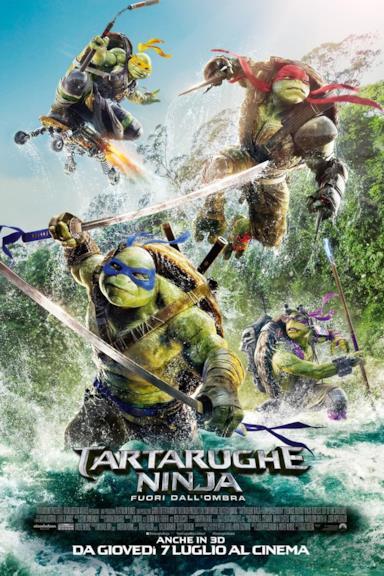 Poster Tartarughe Ninja: Fuori dall'ombra