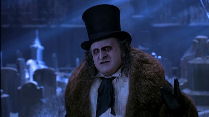 Danny DeVito è Pinguino in Batman - Il Ritorno (1992) di Tim Burton