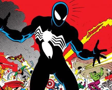 Dettaglio della cover di Marvel Super Heroes Secret Wars #8