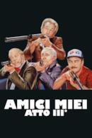 Poster Amici miei - Atto III°