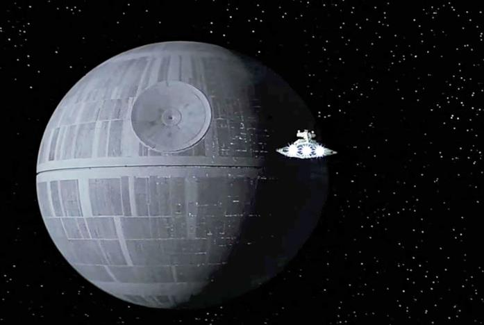 La Morte Nera in Star Wars