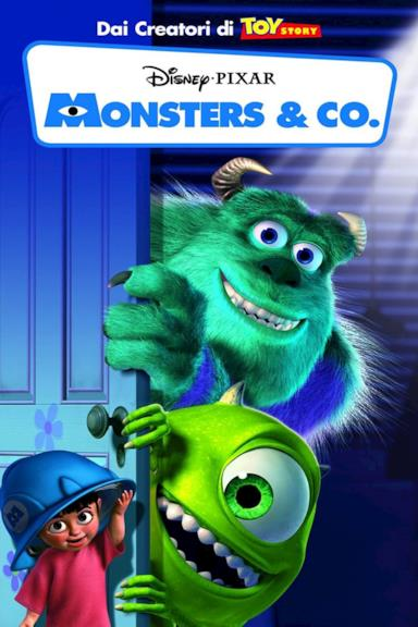 Poster Monsters & Co.
