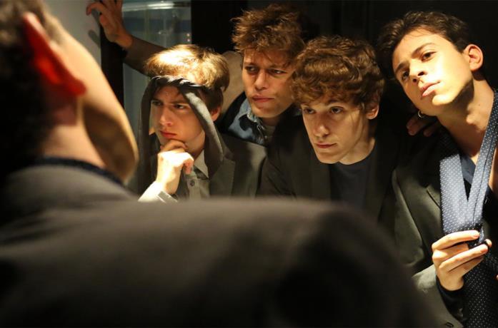 Una scena dei ragazzi in Skam Italia 4