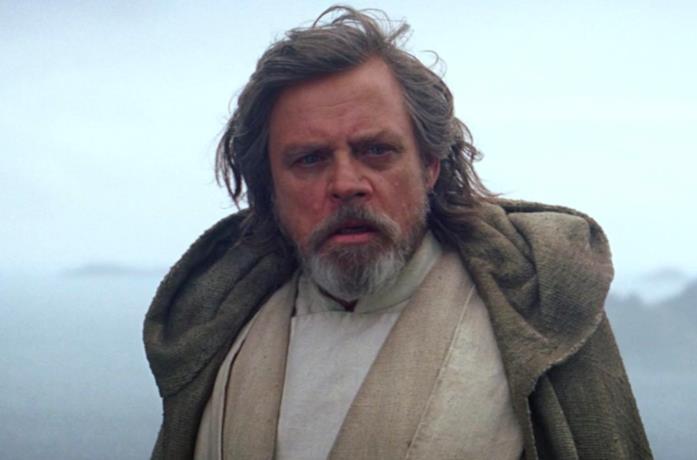Mark Hamill è Luke Skywalker in Star Wars: Il Risveglio della Forza
