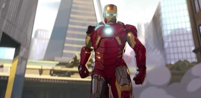 Iron Man in volo