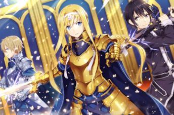Sword Art Online Alicization anime