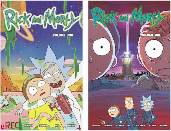 I fumetti di Rick And Morty