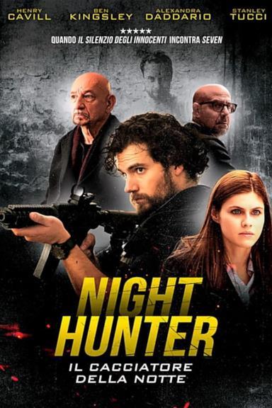 Poster Night Hunter - Il cacciatore della notte