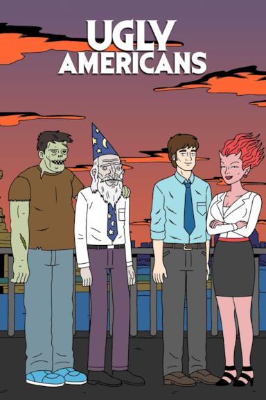 Poster Ugly Americans