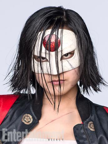 Il character poster di Katana (Karen Fukuhara) in Suicide Squad
