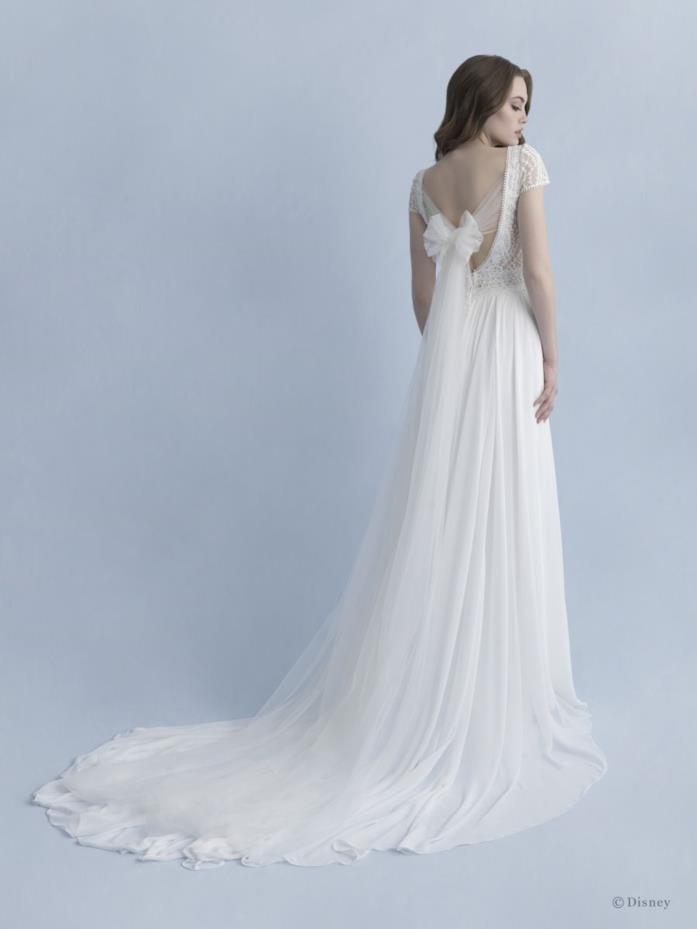 Abito da sposa Allure Bridals dedicato a Rapunzel