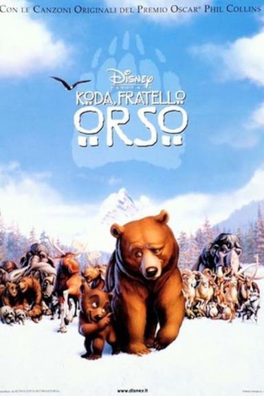 Poster Koda, fratello orso