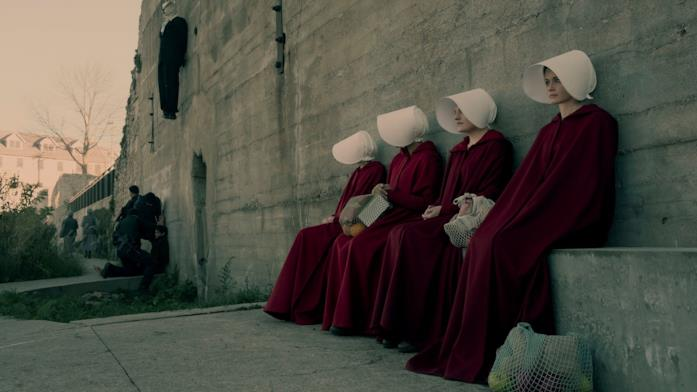 Il cast in The Handmaid's Tale