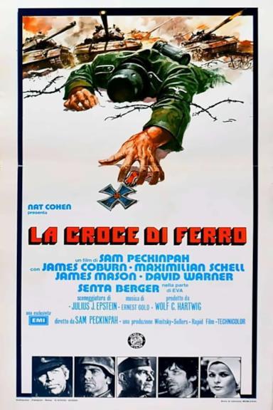 Poster La croce di ferro