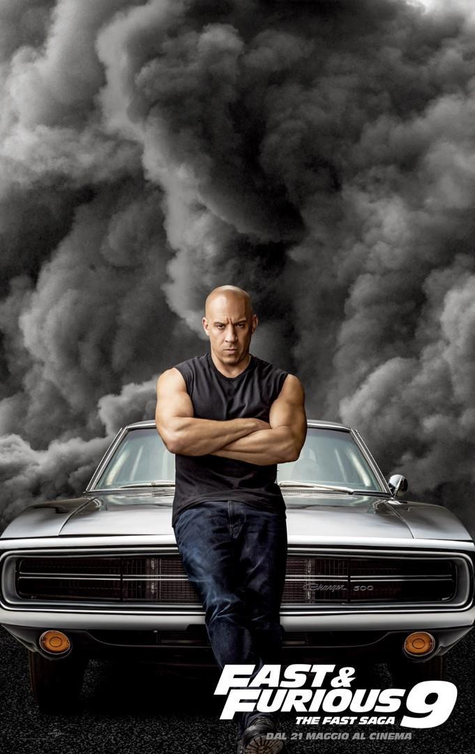 Vin Diesel in Fast Furious 9