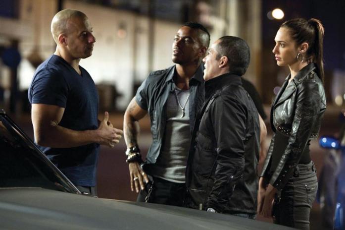 Una scena di Fast & Furious 4